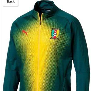 PUMA NWT Mens Cameroon Stadium Jacket